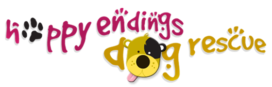 Happy Endings Dog Rescue Logo